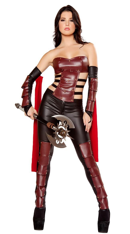 afa3fb31218a Frække Romersk Kostume Kriger Kostume Til Kvinder