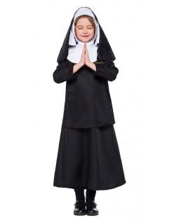Piger Nonne Kostume til Børn