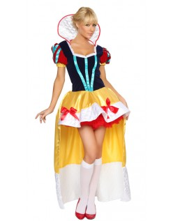 Halloween Kostume Deluxe Snehvide Kostume