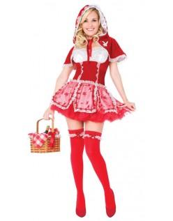 Playboy Lille Rødhætte Kostume