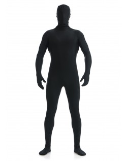 Mænd Lycra Spandex All Inclusive Skinsuit Sort