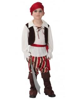 Klassisk Børn Pirat Kostume Til Halloween