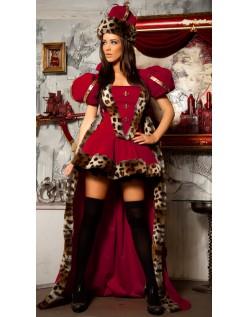 Alice i Eventyrland Deluxe Hjerter Dronning Kostume