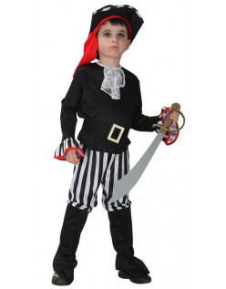 Stripe Pirat Kostume Halloween Til Børn