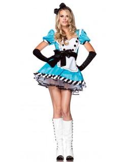 Alice i Eventyrland Smukke Alice Kostume
