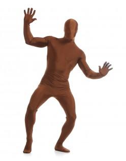 Mænd Lycra Spandex All Inclusive Skinsuit Chokolade