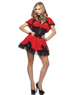 Hottie Lille Rødhætte Kostume