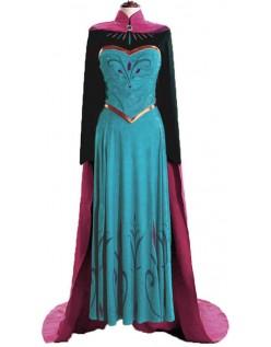 Frozen Prinsessekjoler Rejser Anna Kostume til Voksen