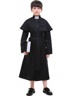 Religion Præst Kostume Børnekostume