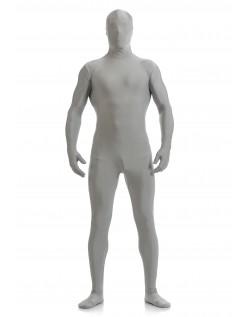 Mænd Lycra Spandex All Inclusive Skinsuit Grå