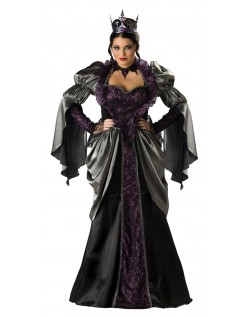 Alice i Eventyrland Ond Dronning Kostume
