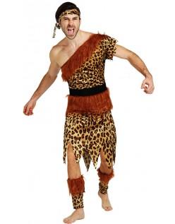 Udklædning Leopard Indianer Kostume til Mænd