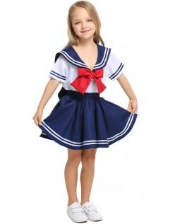 Børn Søde Matros Kostume Til Piger