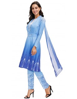 Dame Frosne 2 Prinsesse Elsa Kostume til Voksne