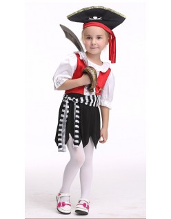 Halloween Piger Pirat Kostume Til Børn