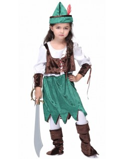 Krydse Halloween Pirat Skov Prinsesse Kostume