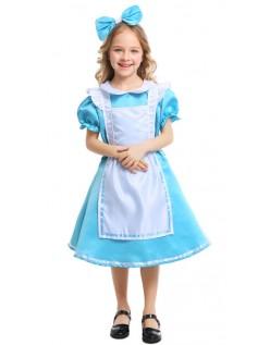 Børn Alice Kostume Alice i Eventyrland Kostumer