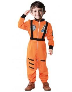 Astronaut Kostume Til Børn Orange Børnekostume