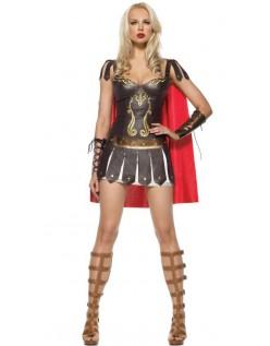 Kriger Prinsesse Romersk Gladiator Kostume