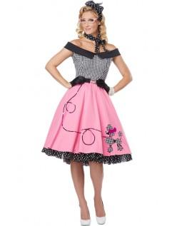 Fiks 50'er Kostume Til Kvinder