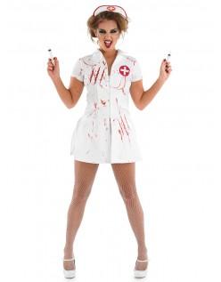 Mareridt Halloween Sygeplejerske Kostume