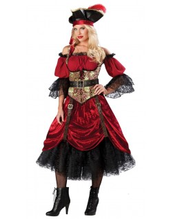Swash Bucklin 'Scarlet Elite Pirat Kostume