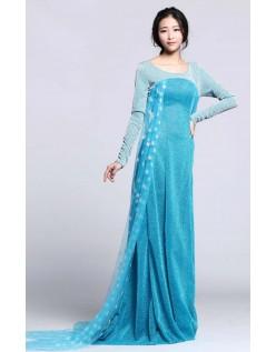 Billige Elsa Kjole Voksen Frost Kostume