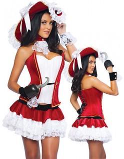Frækt Pirat Kaptajn Kostumer Halloween Kostumer
