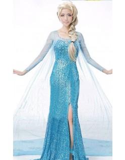 Billige Frost Kostume Elsa Kjole Voksen
