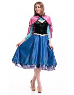 Frost Prinsesse Anna Kroning Kjole Voksen