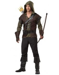 Sherwood Forest Robin Hood Kostume til Mænd