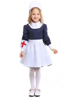 Super Søde Piger Læge Sygeplejerske Kostume Børn