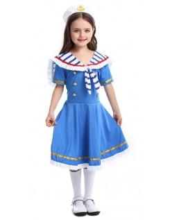 Piger Sød Matros Kostume Til Børn