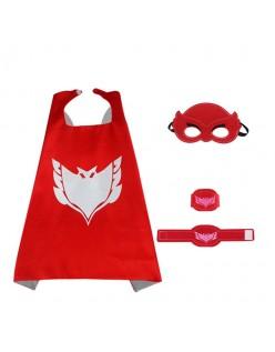 PJ Masks Kostume Owlette Kappe Superhelte Kappe Til Børn Sæt