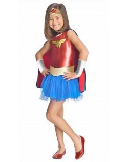 Wonder Woman Kostume Superhelt Kostume Til Børn