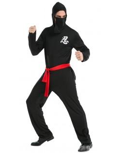 Halloween Mester Ninja Kostume Til Mænd