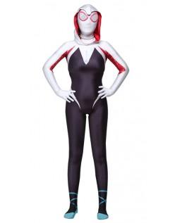 Spider Gwen Kostume Spidergirl Superhelte Kostumer Børn og Voksne