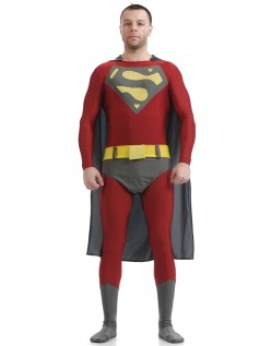 Superhelte Kostume Lycra Spandex Superman Kostume