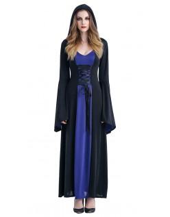 Hættetrøje Hekse Kostume Lilla