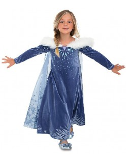Sne Dronning Elsa Anna Prinsesse Kostume Til Pige