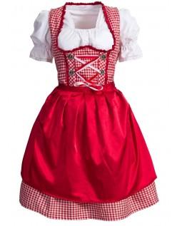 Frække Tyroler Kostumer Svensk Tysk Oktoberfest Kjole