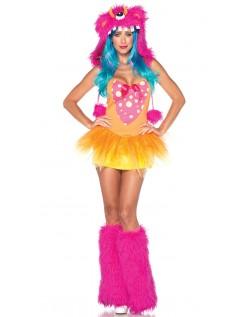 Shaggy Shelly Monster Kostume til Halloween