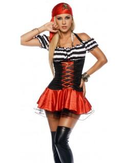 Frække Pillaging Pirat Kostume Dame
