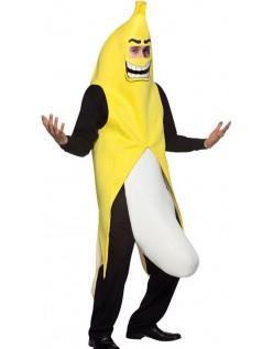 Udklædning Flasher Banan Kostume til Voksne