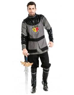 Middelalderlige Ridder Kriger Kostume til Mænd
