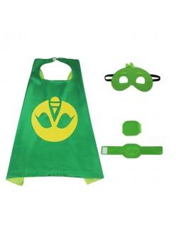 PJ Masks Kostume Gekko Kappe Superhelte Kappe Til Børn Sæt
