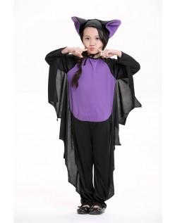 Køligt Halloween Bat Kostume Til Børn