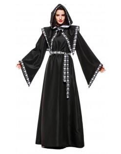 Grim Wizard Reaper Kostume til Kvinder