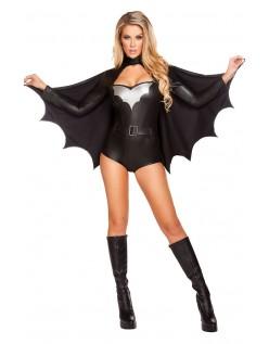 Frække Nat Vigilante Batgirl Kostume
