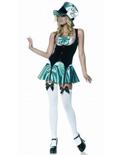 Frække Mad Hatter Kostume Til Kvinder